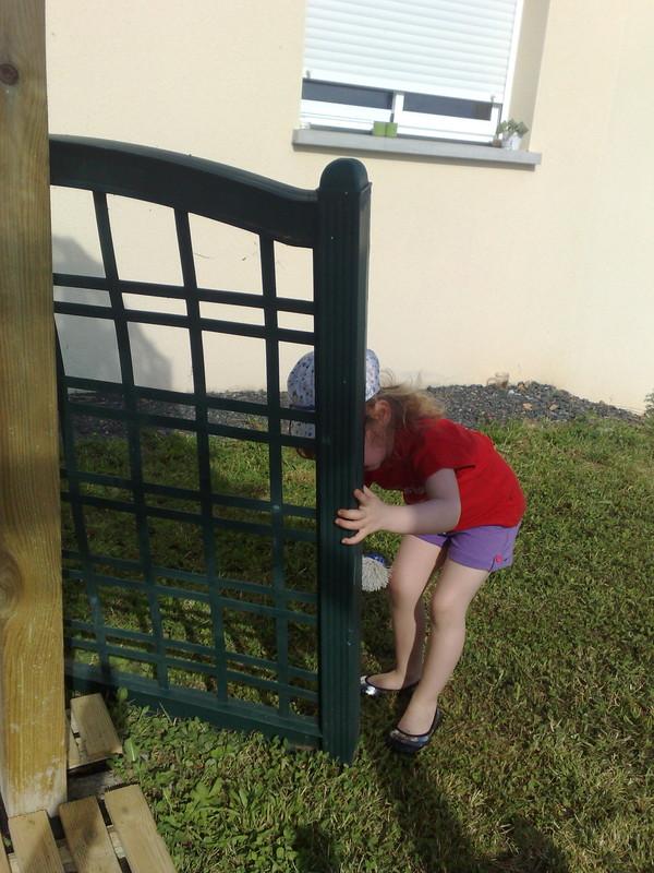 Op ration nettoyage chaises de jardin et autres centerblog for Nettoyage de jardin