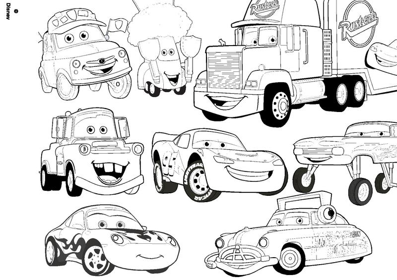 Coloriage cars - Dessin a colorier cars martin ...