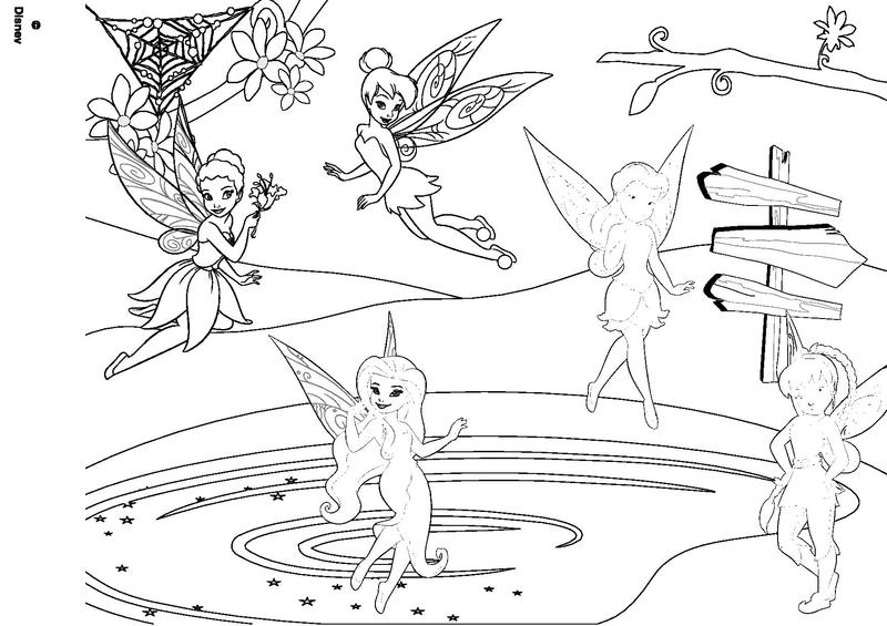 Coloriage page 3 - Coloriage fees a imprimer ...