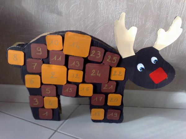 Super de l'avent : le petit renne XV04