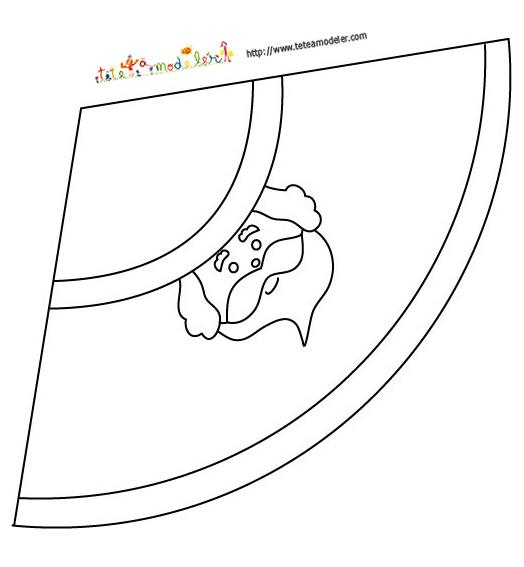 Saint nicolas - Fabriquer un pere noel en papier ...
